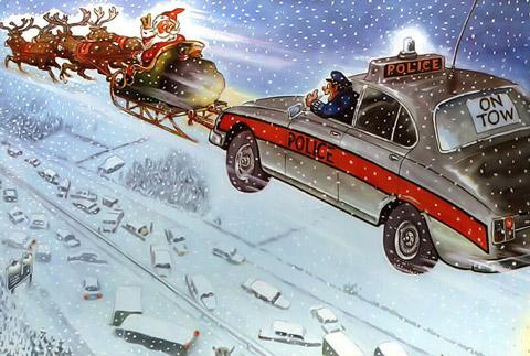 Дядо Коледа винаги помага
