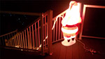 Дядо Коледа пишка