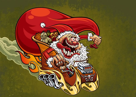 Дядо Коледа психар