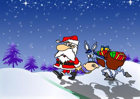 Криза има и за Дядо Коледа