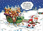Елените прецакаха дядо Коледа