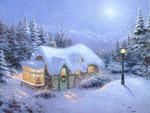 Рисунка на къща на Бъдни вечер
