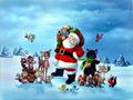 Дядо Коледа и животинки