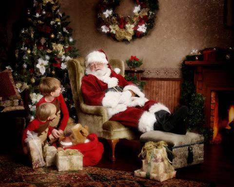 Дядо Коледа спи