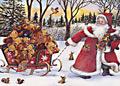 Дядо Коледа носи подаръци