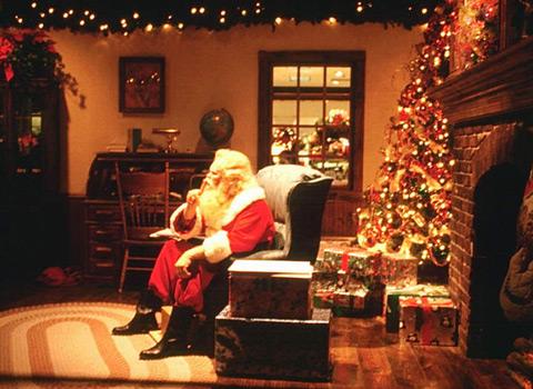 Дядо Коледа почива