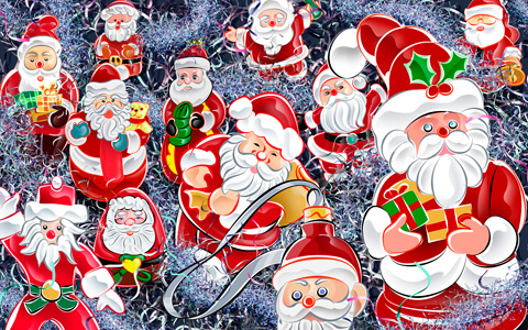 Рисувани дядо Коледовци