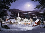 Новогодишни пейзажи