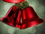 Червена Коледна камбанка