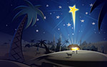 Рисунка на коледната звезда