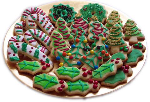 Коледни курабийки