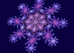 Лилава снежинка