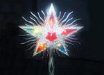 Светеща коледна звезда