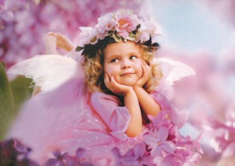 Момиче фея