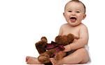 Бебе се смее