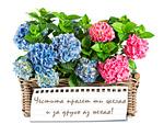 Честита пролет ти желая