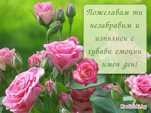 Пожелавам ти хубав Имен ден - Цветница ...: kartichki.bg/kartichki/cvetnica-vrabnica/pojelavam-ti-hubav-imen...