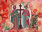 Икона на Константин и Елена