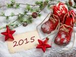 Картичка за 2015 година