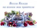 Весела Коледа на всички мои приятели