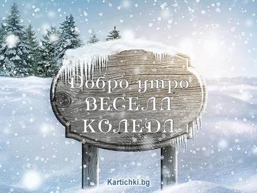 Добро утро. Весела Коледа