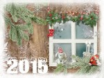 Коледна картичка за 2015
