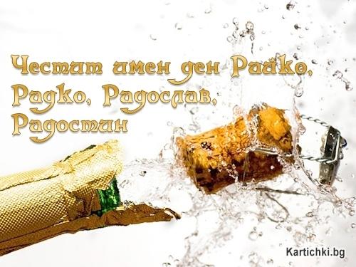 Честит имен ден Райко, Радко, Радослав, Радостин