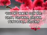 Честит Имен Ден на Галя, Галина, Галин, Геновева, Галена