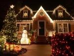 Идея за Коледна Украса на Къща